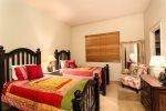 Bedroom 2 is beautifully furnished with two twin beds