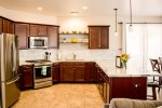 Gorgeous, large, updated kitchen for all your cooking needs