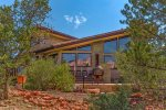 This spectacular 3,212 sq ft Sedona vacation rental offers the ultimate in luxury and lifestyle