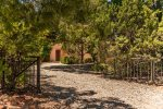 A private, gated entry leads to this charming Sedona vacation rental