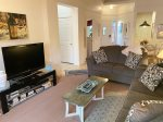 The Nepenthe Complex has a seasonal community pool with stunning red rock views