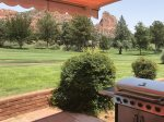 Glenbar is located on the 3rd fairway of Oak Creek Golf Course in Sedona
