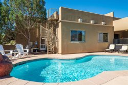 Rent Reduced For Jan & Feb! Beautiful Home in the Chapel area with an Observation Deck that has Red Rock Views and a private pool! INDIAN - S055