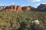 you are surrounded by Sedona`s stunning red rocks