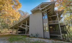 Located on 40 private acres with Hiking Trails