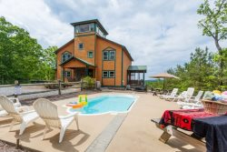 Poolside Mountain Retreat-Incredible Home - Sleeps 15