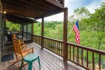Open decks, covered and screened-in porches galore