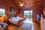 Cozy King Master Bedroom 1