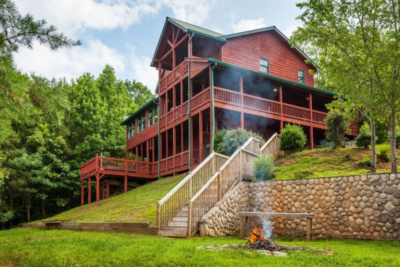 Magnificent Mountain Oasis Cabin Rentals North Ga Vacations Carters Download Free Architecture Designs Viewormadebymaigaardcom