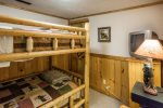 3rd Bedroom with Full Size Bunks