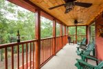 40 ft screened-in porch