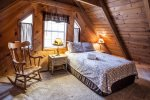 Queen Bedroom in Loft