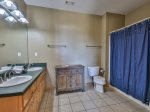 Queen Bed with 2 Sets of Bunks
