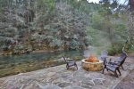 Firepit at Rivers Edge