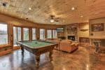 Living & Game Room