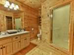 Master Bath with walk in shower