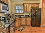Granite counters and modern appliances