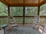 Screened porch upper level