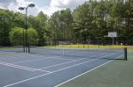 Tennis Court at Rec Center