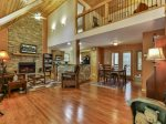 Spacious Open floor plan