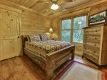 Upper Queen bedroom with jack & jill bath