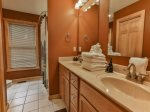 Master Bath double vanities