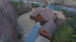 Cartecay River Dreams - Fabulous Log Home on River