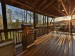 Game area with pool table