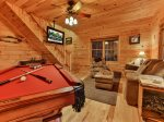 Pool Table & Board Games