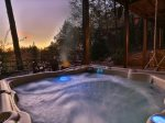 Large Relaxing Hot Tub