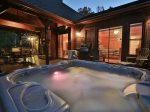 Large Hot Tub Under the Stars