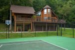 Private Tennis/Basketball Court