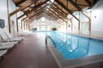 Indoor heated pool at Deer Park Resort, Woodstock, NH