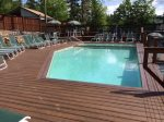 Waterville Estates Recreation Center with Adults Only Outdoor Pool and Patio Seating
