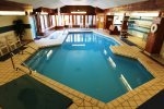 Relax in the indoor pools offered in the Village of Loon