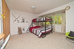 Lower Lever with bunk beds in Waterville Estates Vacation Condo
