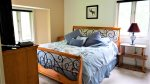 Master Bedroom at Forest Rim Condo in the Heart of Waterville Valley, NH