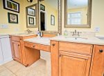 Master Bath in Holiday Rental Home