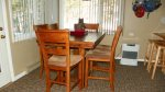 Dining area in Waterville Valley Vacation Condo