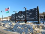 Loon Resort and Ski Mountain a short shuttle ride away