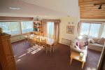 Second view of dining area in Vacation Rental Near Loon Mountain