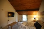 Sunnyside Condo Bedroom in Waterville Valley Family Friendly Resort
