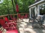Updated Deck with Furniture and gas grill