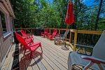 Beautiful Sun Deck with Gas grill and patio furniture