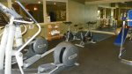 Work up a sweat in the fitness center at Pollard Brook near Loon
