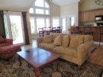 Complete Living Area View in Owls Nest Resort and Golf Club Vacation Condo
