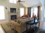 Family Living area in Owls Nest Resort Vacation Rental