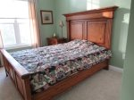Bedroom One in Owls Nest Resort and Golf Club Vacation Rental