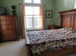 Queen Bed in Owls Nest Resort and Golf Club Vacation Rental