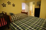 Queen bedroom in Forest Ridge Vacation Home Rental